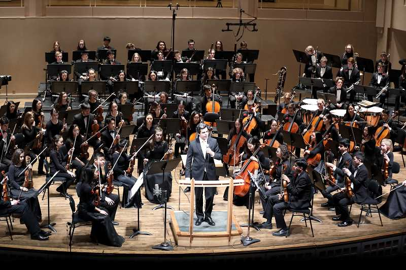 COURTESY PHOTO  - The Metropolitan Youth Symphony will present Lights, Camera, Music! Jan. 12. Get tickets now.
