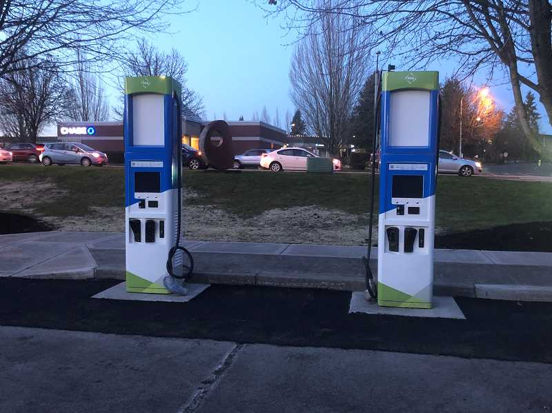 PMG PHOTO: COREY BUCHANAN - Wilsonville invested in clean power in 2019, purchasing two electric busses for SMART and partnering with PGE on a charging station at Wilsonville Library.