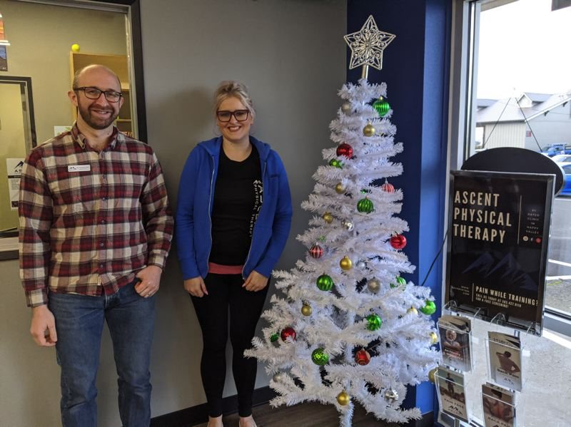 PMG PHOTO: BRITTANY ALLEN - Ascent Physical Therapy is hosting the Chambers Giving Tree this year.
