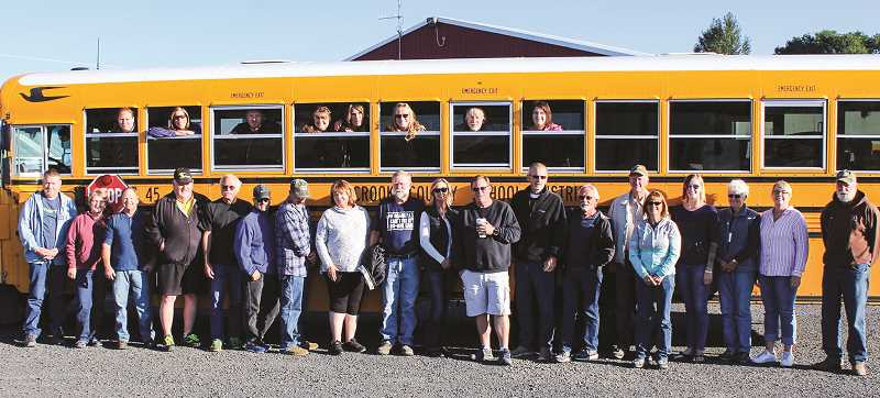 PHOTO COURTESY OF CROOK COUNTY SCHOOL DISTRICT  - All staff who transport students must undergo training and be certified with either Type 10 or Type 20 certifications.