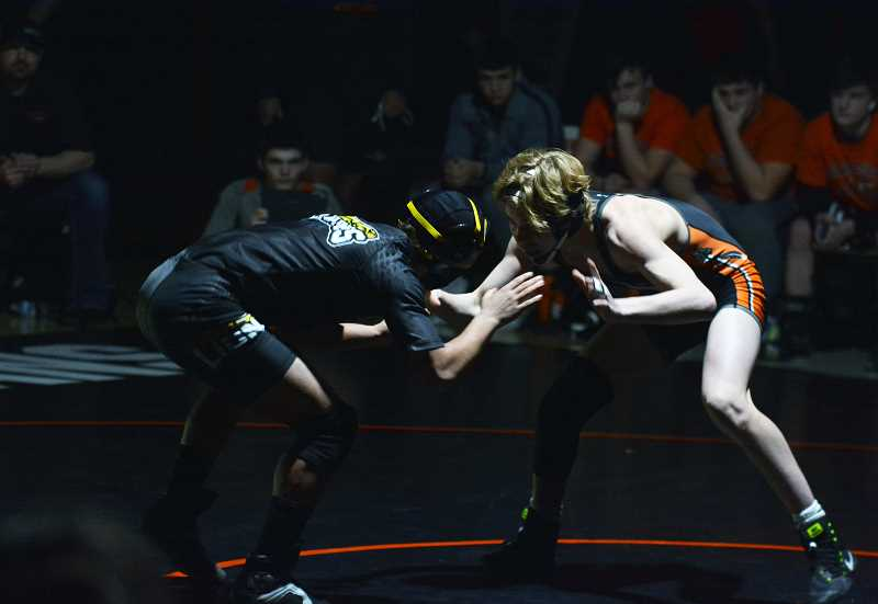 FILE PHOTO - Scappoose standout wrestler AJ DeGrande and the Indians are off to a strong start this season.
