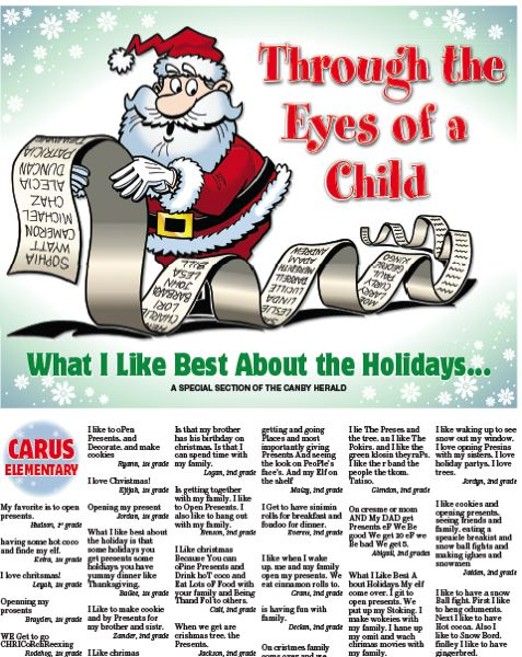 (Image is Clickable Link) Through the Eyes of a Child - Canby Herald
