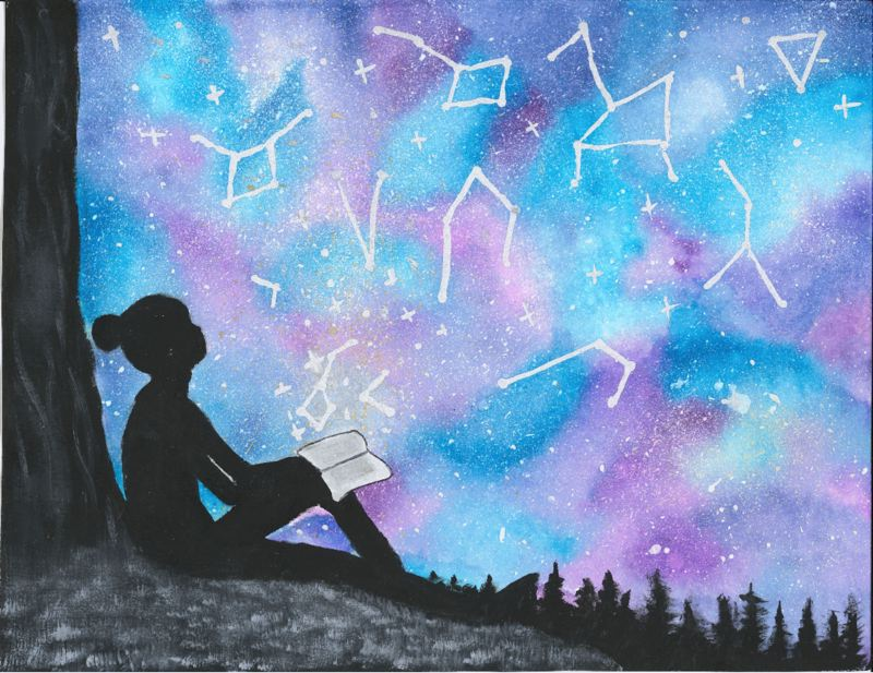 COURTESY PHOTO: LEALA TRAN  - Last years theme was Universe of Stories depicted here by Leala Tran, 12, of Happy Valley.