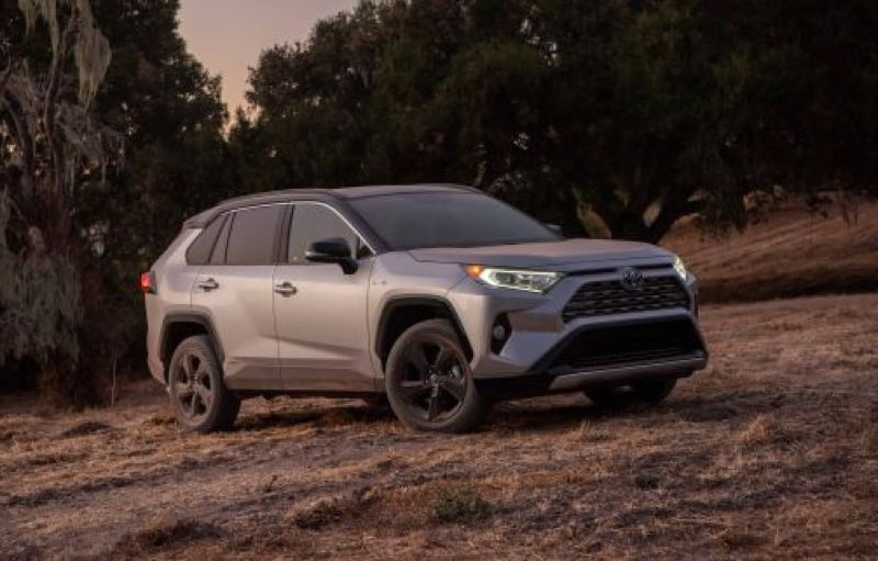 TOYOTA MOTOR COMPANY - The redesigned Toyota RAV4 is a bold compact crossover SUV that can be ordered in a wide range of trim levels, including a fuel-efficient hybrod with all-wheel-drive.