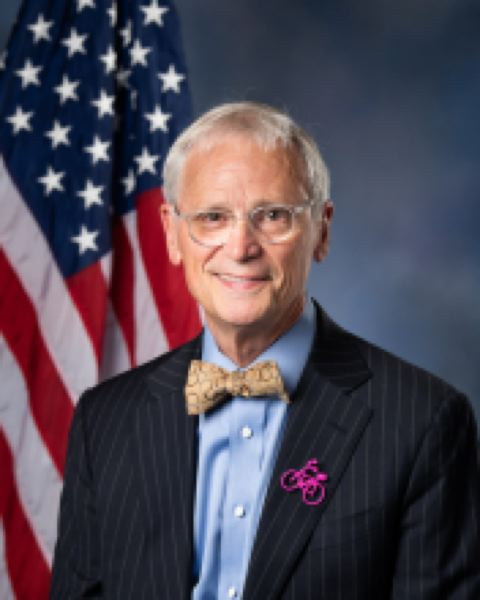 COURTESY U.S. REP. EARL BLUMENAUER - U.S. Rep. Earl Blumenauer, D-Ore., leads a trade subcommittee of the House Ways and Means Committee and was one of nine House Democratic negotiators of a revised trade agreement with Canada and Mexico that won House approval on Dec. 19.