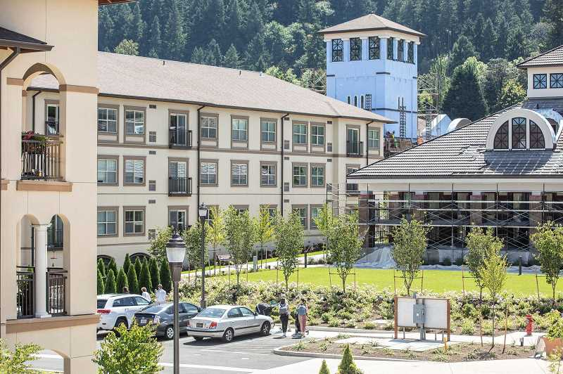 PMG FILE PHOTO  - An expansion at Mary's Woods likely contributed to Lake Oswego's substantial increase in population over the last year.