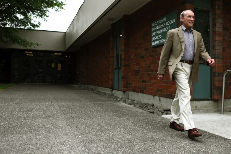 PMG FILE PHOTO - In his final year as superintendent of the Beaverton School District, Jerome Colonna faced controversy over the removal of student teacher Seth Stambaugh from his Sexton Mountain Elementary School classroom.