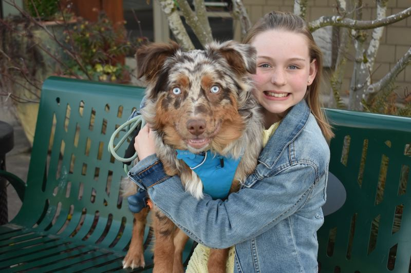 PMG FILE PHOTO - Estacada Middle School student Maddy McCullough was honored as the Estacada News' 2019 Amazing Kid for her efforts in supporting animals.