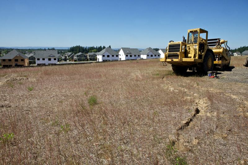 PMG FILE PHOTO - In 2013, construction began on previously undeveloped land in North Bethany.