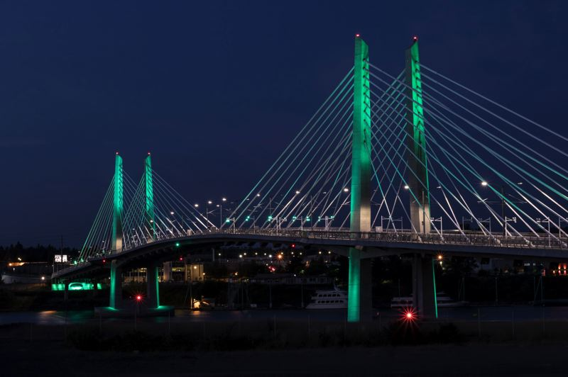 PMG FILE PHOTO - Tilikum Crossing, which ony allows buses, bikes, pedestrians and trains, became an icon for a post-car Portland.