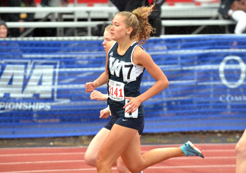 PMG FILE PHOTO - Samantha Prusse runs at the Class 5A state track meet.