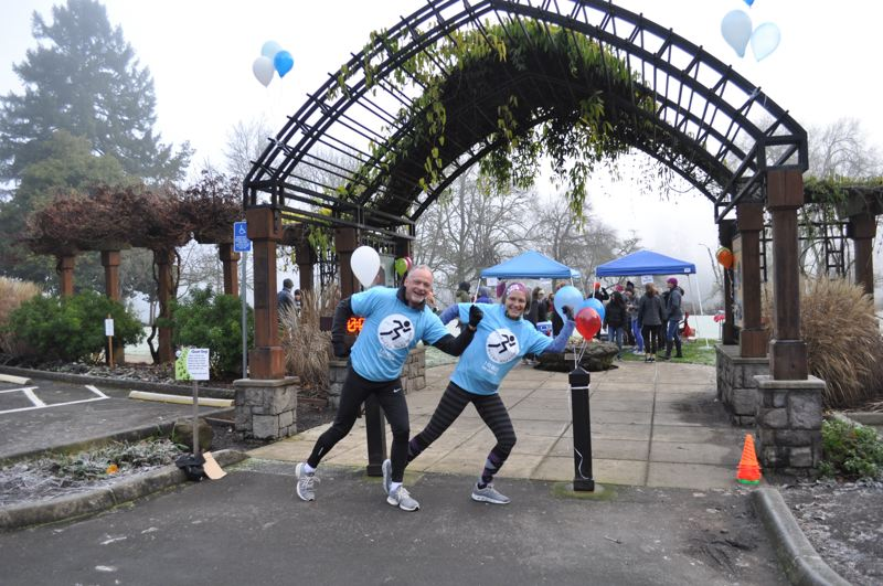 COURTESY PHOTOS  - All are invited to take part in the Micro Marathon taking place New Year's Day at George Rogers Park in Lake Oswego.
