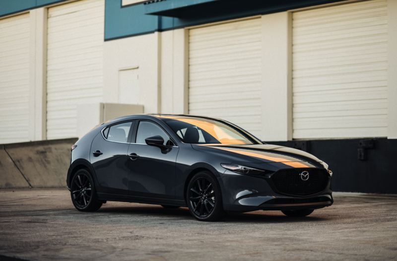 COURTESY MAZDA - The 2020 Mazda3 AWD Hatchack sets a new standard for family-oriented compact cars, with bold styling and refined engineering.