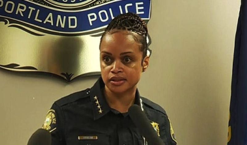 PMG FILE PHOTO - Portland Police Chief Danielle Outlaw