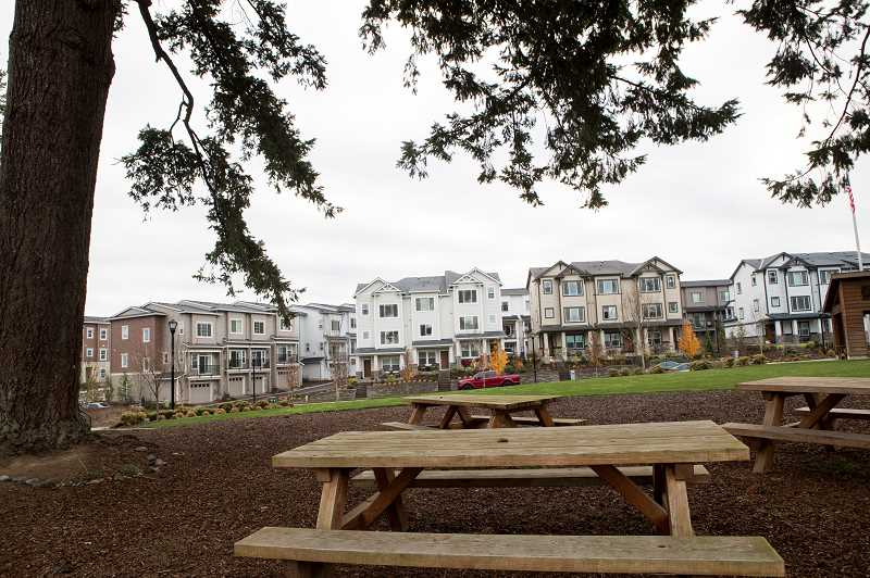PMG FILE PHOTO - Wilsonville's growth in the 2010s largly happened in Villebois, which is a community of around 5,000 residents.