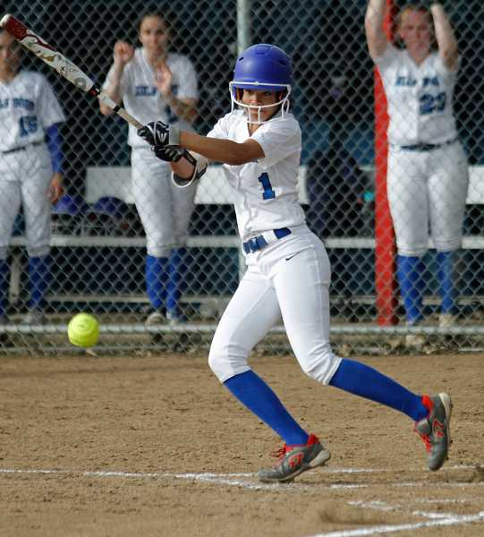 PMG PHOTO: CHRISTOPHER OERTELL - Hillsboro's Kiara McCrea was the 5A Co-State Player of the Year as a sophomore.