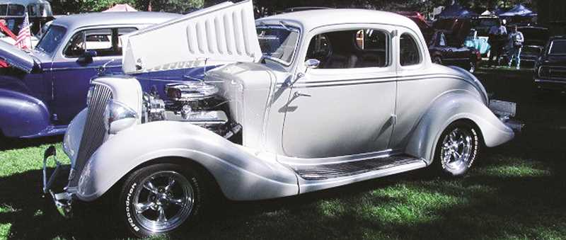 PHOTO COURTESY OF CROOK COUNTY RODDERS  - This 1934 Hudson Terraplane belongs to Tom Tomlinson of the Crook County Rodders Club. It will be on display at the Crook County History Center in July, a week prior to the Cruise to the Center of Oregon car show July 11.