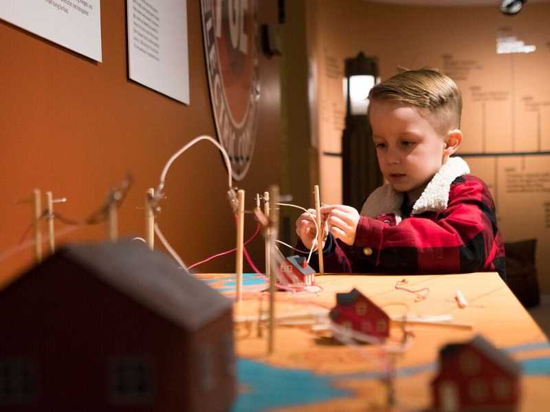 The Museum of the Oregon Territory can provide many hours of entertainment this winter.