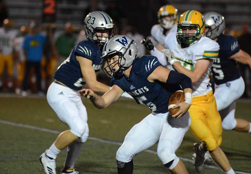 PMG PHOTO: DEREK WILEY - Canby's football team could play in a special district with Wilsonville next fall.