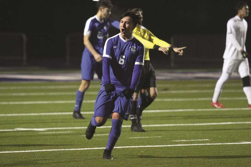 PMG PHOTO: PHIL HAWKINS - Woodburn junior Ricardo Hernandez was one of six Bulldog players to be named to the 2019 4A All-State Soccer Team.