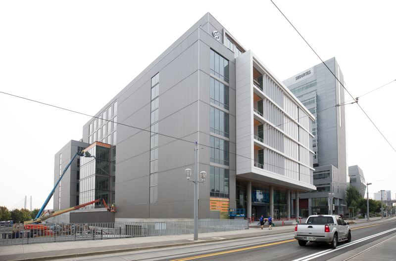 PMG FILE PHOTO - The Knight Cancer Research Center at OHSU, paid for by taxpayers and rich donors with a view to 'ending cancer as we know it.'