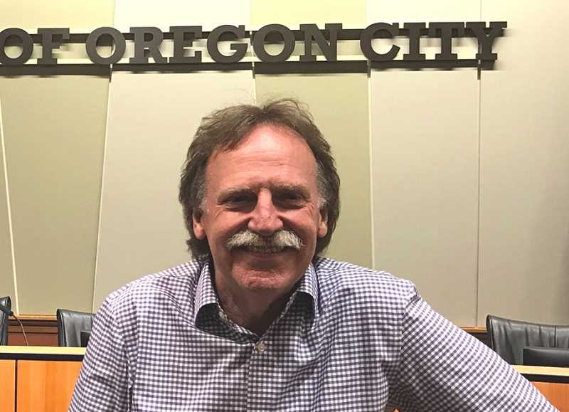 PMG FILE PHOTO - Mike Mitchell, a longtime member of Oregon City's Urban Renewal Commission, resigned effective Dec. 31.