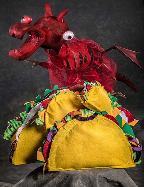 COURTESY PHOTO: OWEN CAREY - Oregon children's Theatre presents a new show called 'Dragons Love Tacos' on Jan. 18.