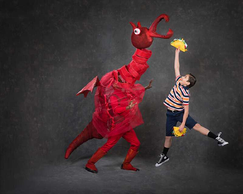 COURTESY PHOTO: OWEN CAREY - Oregon Children's Theatre will start off the year with 'Dragons Love Tacos' in Portland.