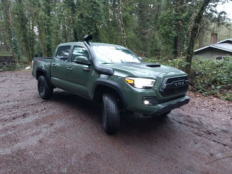 PMG PHOTO: JIM REDDEN - The 2020 Tacoma TRD Pro 4X4 is Tacoma's toughest midsize pickup and the favorite of off-road enthusiasts.