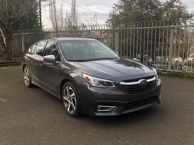 PMG PHOTO: JEFF ZURSCHMEIDE - The Subaru Legacy was completely designed in 2020 and the 2021 version continues to offer great value and a more powerful optional turbocharged engine.