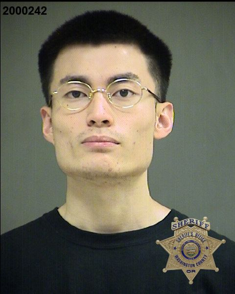 COURTESY WASHINGTON COUNTY SHERIFF'S OFFICE - Jin Hu was arrested by sheriff's deputies Sunday, Jan. 5, on a charge of unlawful use of a weapon.