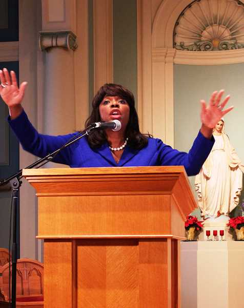 COURTESY PHOTO  - Alabama Congresswoman Terri Sewell was the featured speaker at a past event.