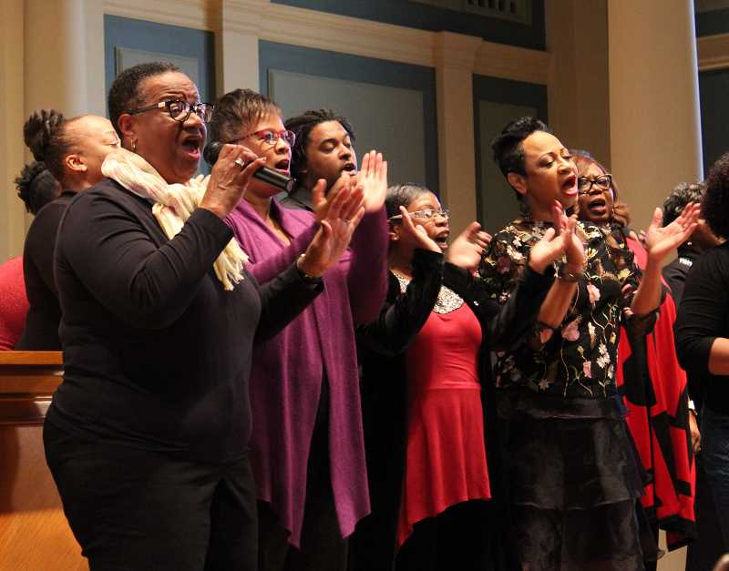 COURTESY PHOTO  - The Northwest Freedom singers will perform again at Mary's Woods MLK celebration event Jan. 18.