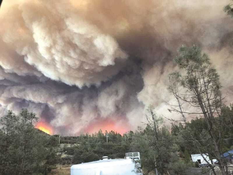 PMG FILE PHOTO - Wildfires have been on the rise in recent decades, as have damages to populated areas resulting from them.