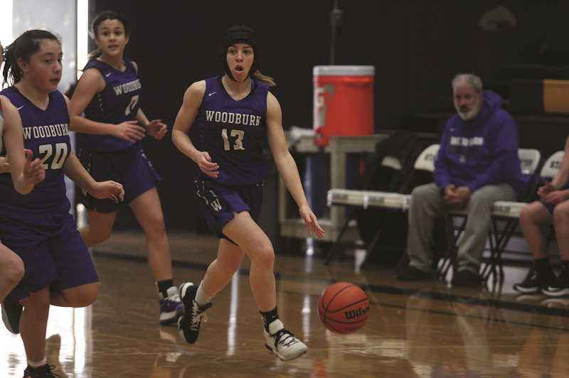 PMG PHOTO: PHIL HAWKINS - Taiya Kent is second on the team with 3.4 steals per game and leads the Bulldogs in rebounding this season.