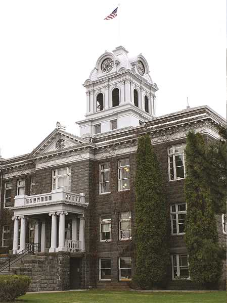 CENTRAL OREGONIAN - Space in the Crook County Courthouse is limited lately as departments have grown and are taking up more space in the old building. County leaders are working to find ways to account for the cramped conditions.