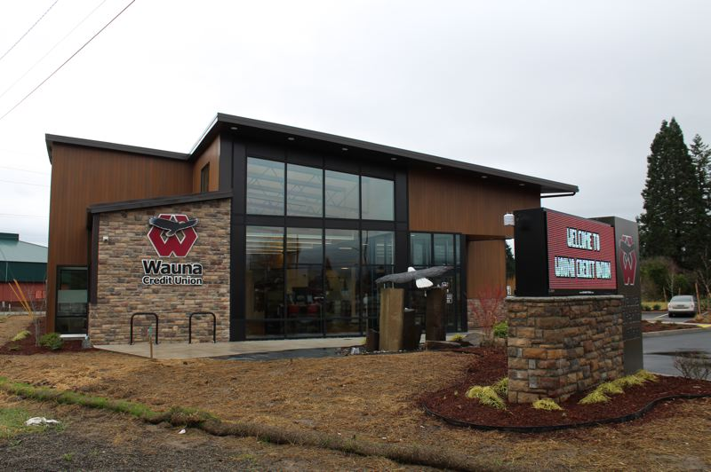 PMG PHOTO: MAX EGENER - Wauna Credit Union opened its Forest Grove branch in December.