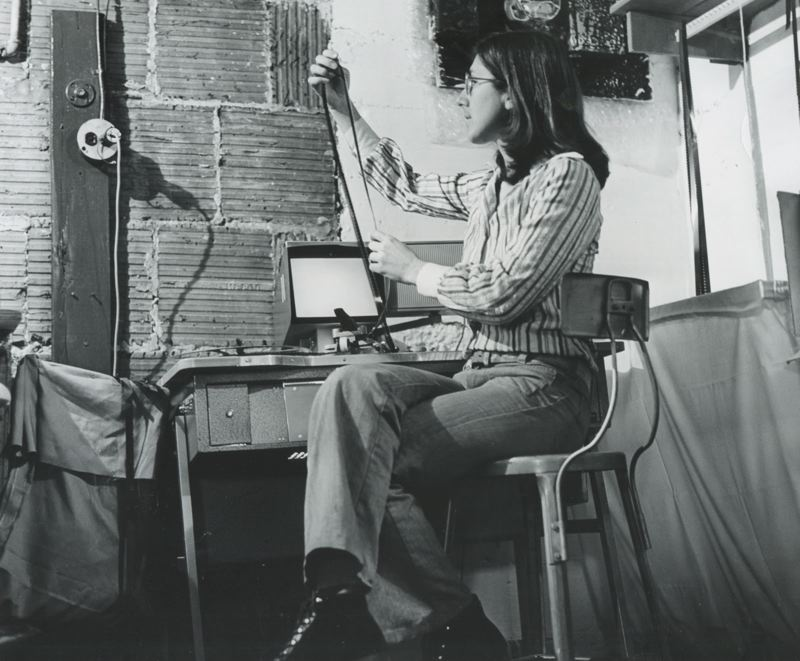COURTESY PHOTO: NORTHWEST FILM CENTER - Northwest Film Center is hosting a 50-year retrospective of documentary filmmaker Julia Reichert (above in 1973), Jan. 11-19.