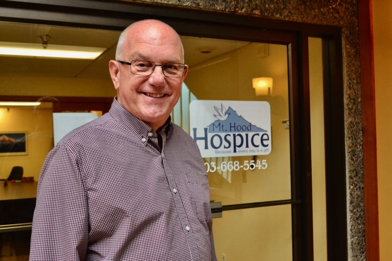 PMG PHOTO: BRITTANY ALLEN  - Fred Vogel has been a chaplain at Mt. Hood Hospice for three years.