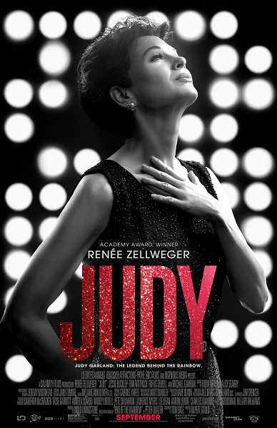COURTESY PHOTO  - The movie Judy, starring Renée Zellweger, shares an intimate look at the life and struggles of singing and acting legend Judy Garland.