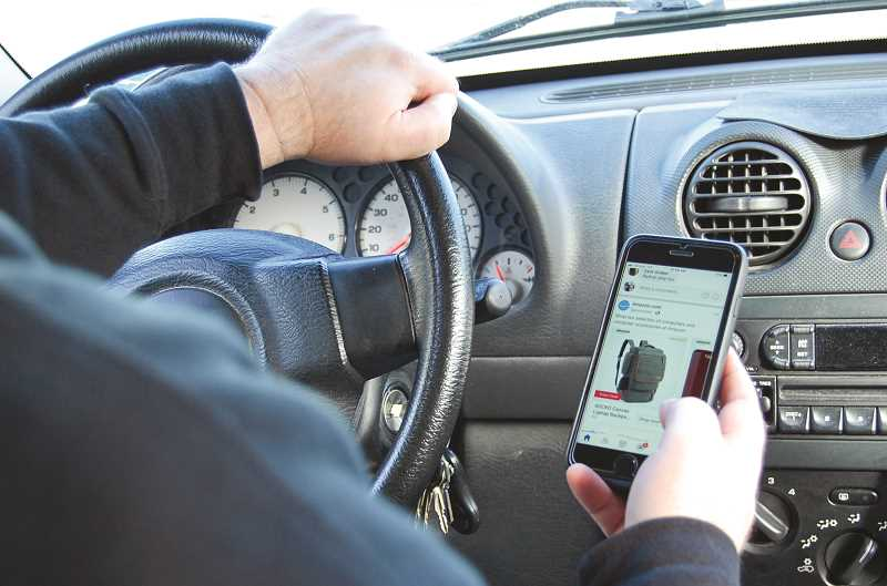 RAMONA MCCALLISTER - Distracted driving has been the cause of many traffic accidents and fatalities, prompting law enforcement to step up enforcement efforts and keep roads safer.
