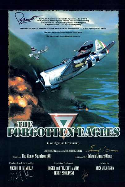 COURTESY PHOTO - 'The Forgotten Eagles' tells the story of the 'Aztec Eagle' aviators of Fighter Squadron 201, the only Mexican military unit to serve in combat outside of that country. The pilots helped the United States during WWII.