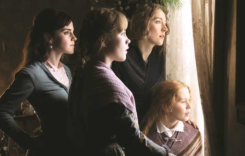 COLUMBIA PICTURES - 'Little Women' features a star-studded cast that includes (from left to right) Emma Watson, Florence Pugh, Saoirse Ronan and Eliza Scanlen as the March sisters.