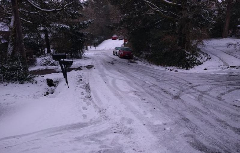 PMG FILE PHOTO - Snowy conditions are now being predicted for the Portland area.
