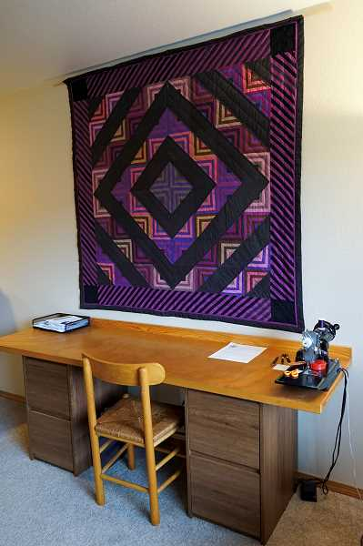 PMG PHOTO: CLARA HOWELL  - This is an example of a quilt Kate Riggsby crafted.