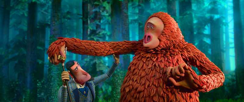 PHOTO CREDIT: LAIKA STUDIOS/ANNAPURNA PICTURES  - Mr. Link, a Sasquatch voiced by Zach Galifianakis, stars in the film 'Missing Link' by Hillsboro's Laika Studios.