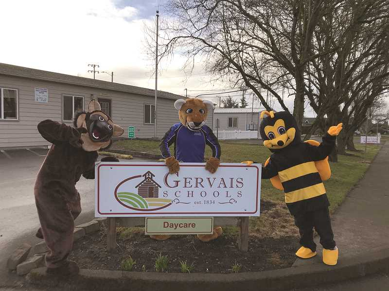 Gervais School District unveils new mascots