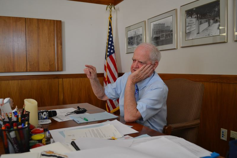 PMG FILE PHOTO - Senate President Peter Courtney missed mid-January's Legislartive Days because of a hip problem. He is being treated at OHSU and expects to return in time for the Feb. 3 session.