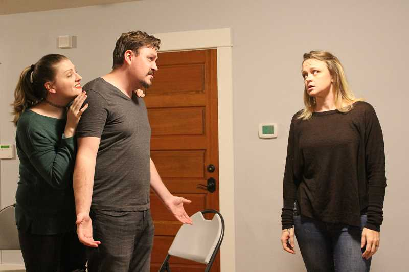PMG FILE PHOTO - WilsonvilleSTAGE, a local theater company, performed 'Sylvia' last fall at Charbonneau Country Club and the Wilsonville Public Library.