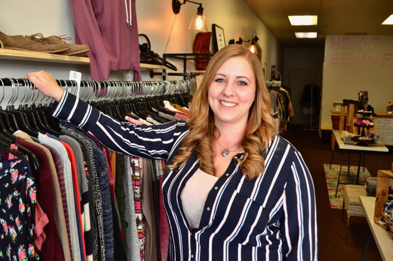 PMG PHOTO: BRITTANY ALLEN - Laura Smit opened Ks Clothing Boutique on Jan. 4.